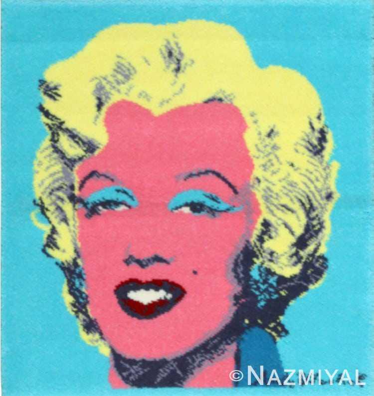 Andy Warhol Rug with Marilyn Monroe 48012 Nazmiyal