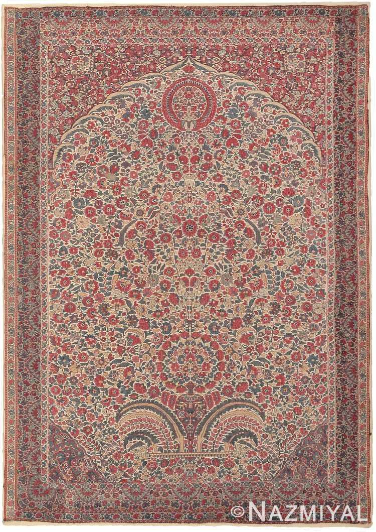 Antique 18th Century Millefleurs Kasmir Shawl 8052 Nazmiyal