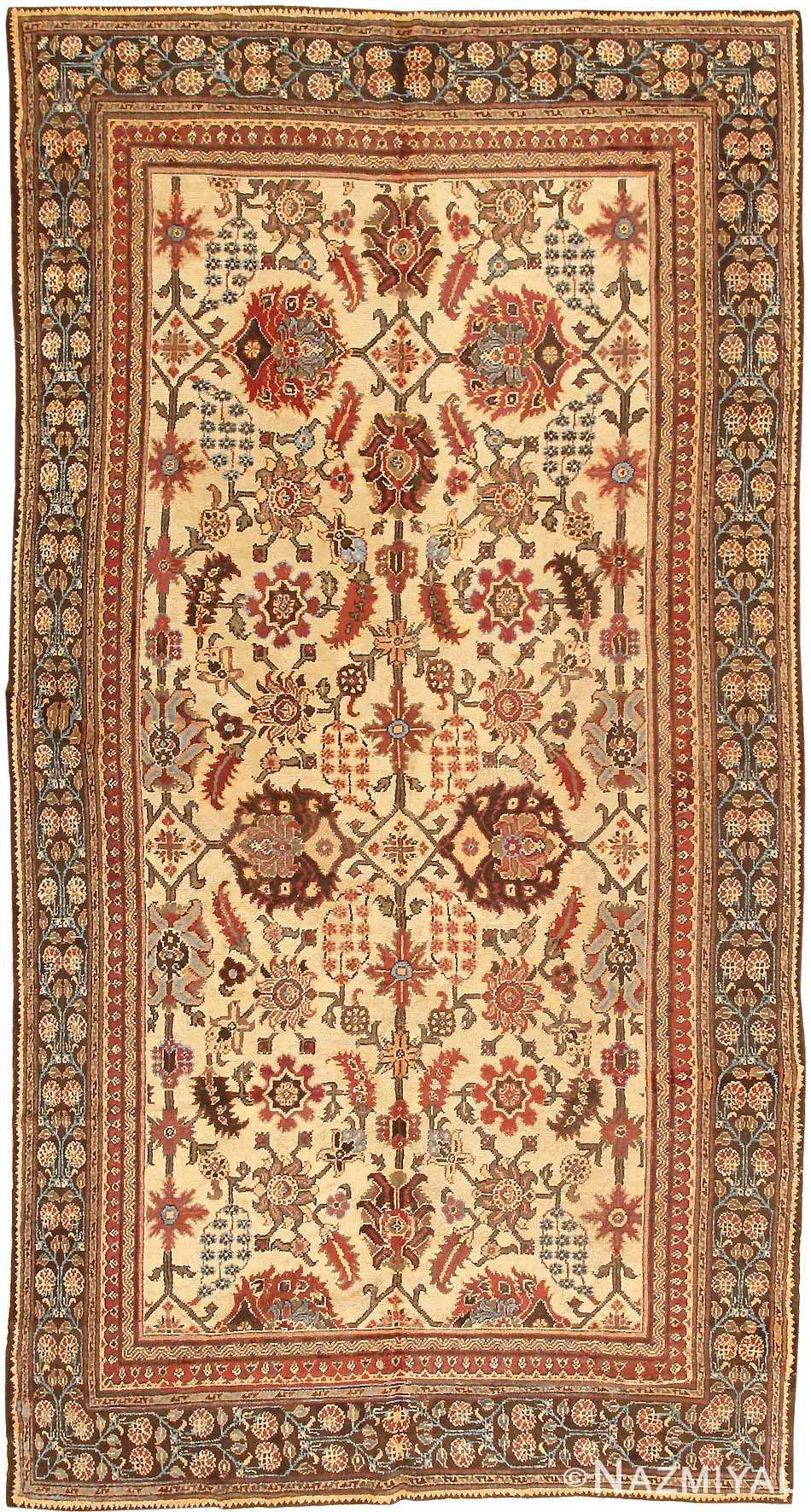 Antique Agra Oriental Rug 3200 Detail/Large View