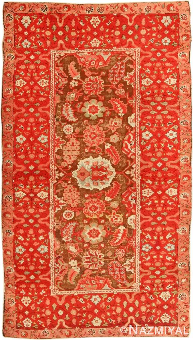 Antique Agra Oriental Rug 3398 Detail/Large View