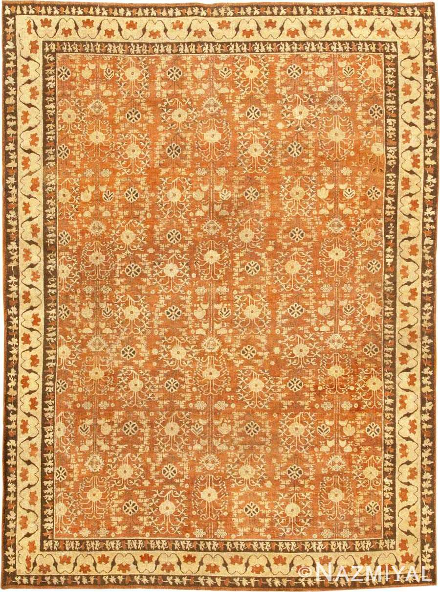 Antique Agra Oriental Rug 42706 Detail/Large View
