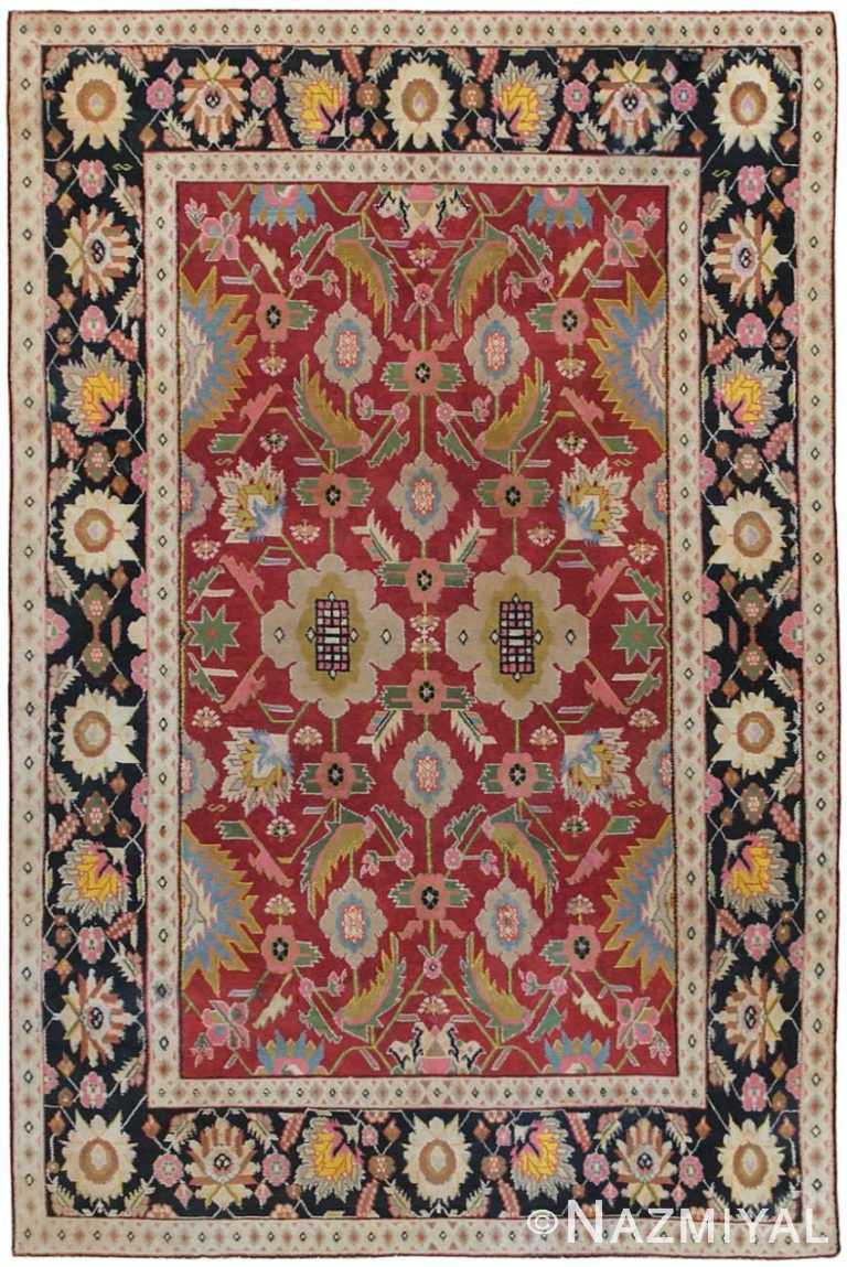 Antique Agra Oriental Rug 44380 Detail/Large View