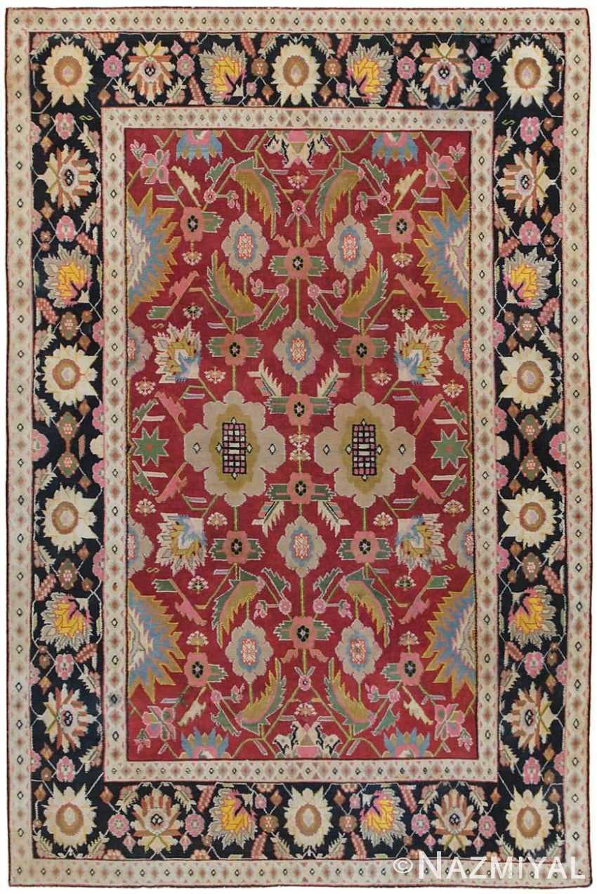 Antique Agra Oriental Rug 44380 Detail/Large View