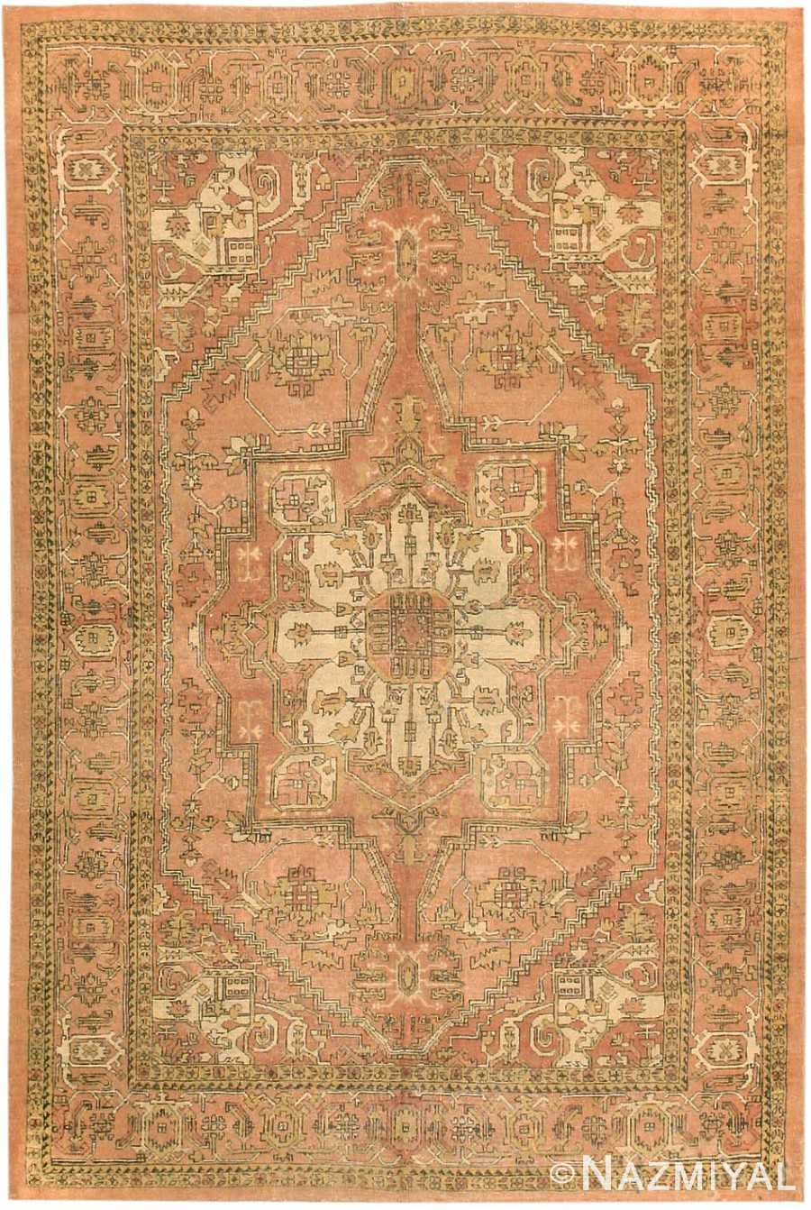 Antique Amritsar Oriental Rug 1074 Nazmiyal