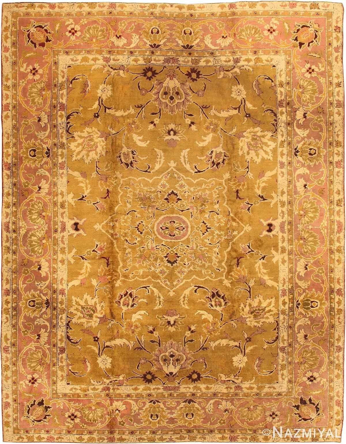 Antique Amritsar Rug 1227 Detail/Large View