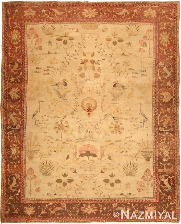 Antique Amritsar Rug 42169 Detail/Large View