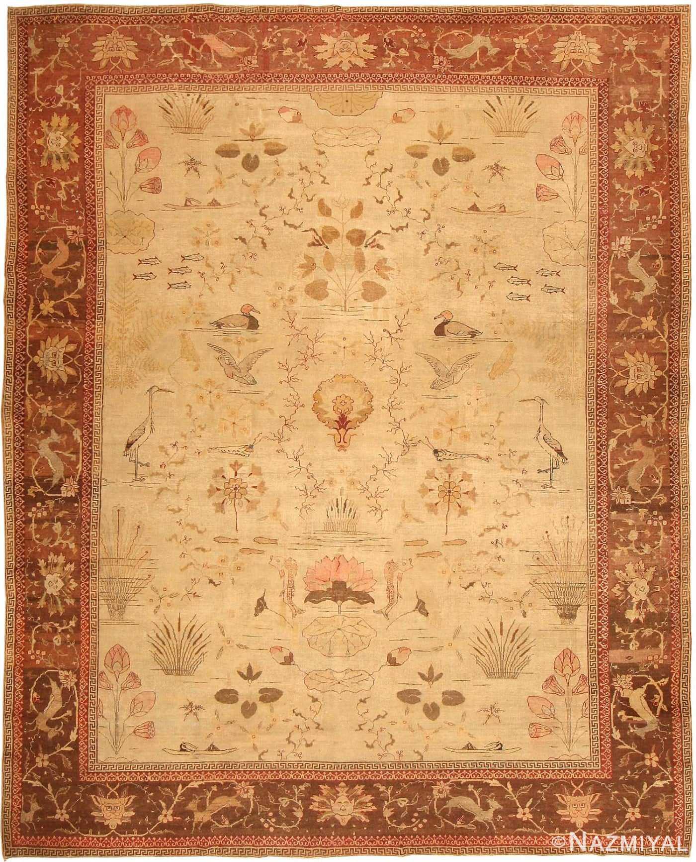 Antique Amritsar Rug 42169 Detail/Large View