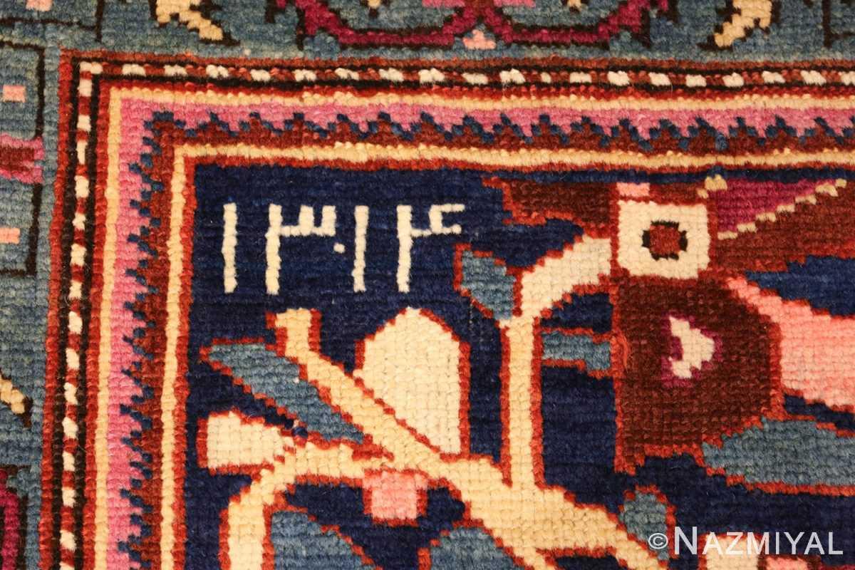 antique caucasian karabagh rug 47981 date Nazmiyal