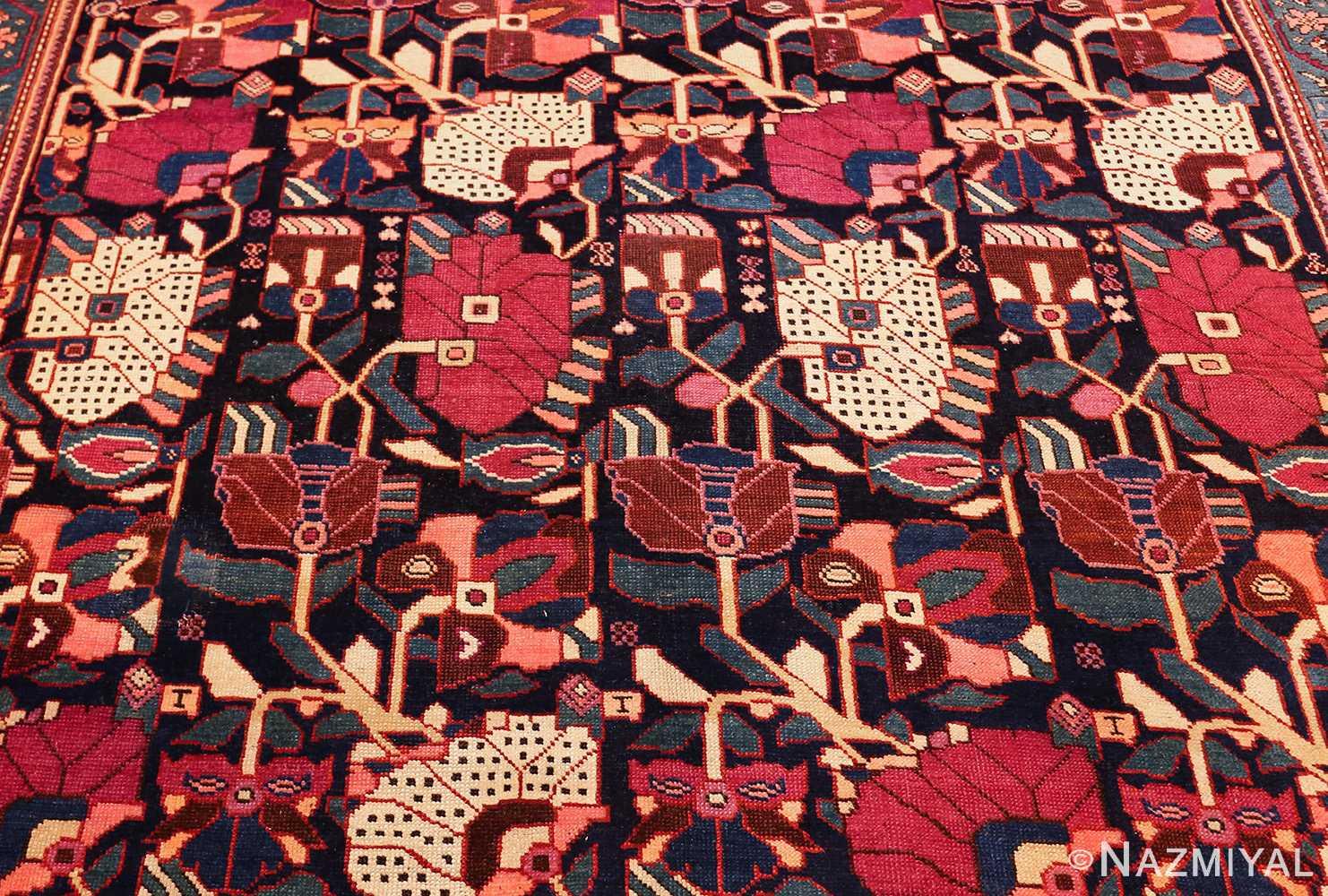 antique caucasian karabagh rug 47981 red Nazmiyal