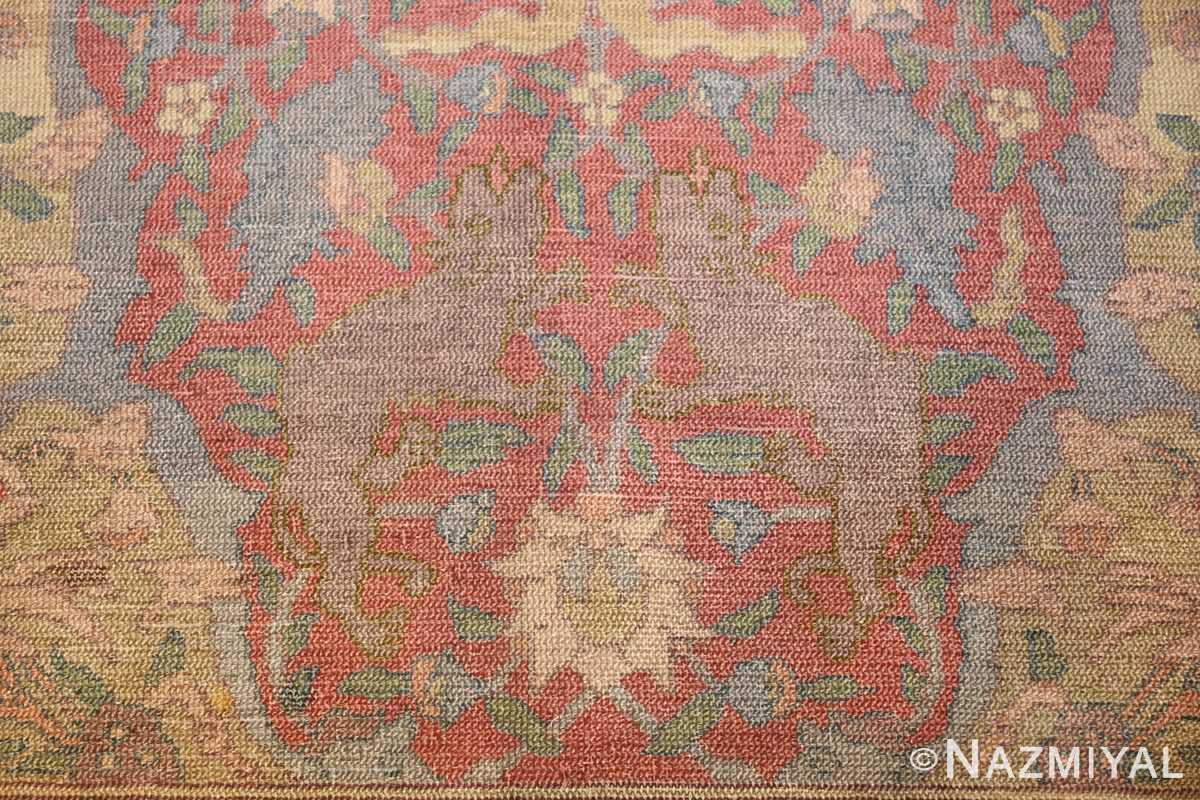 antique israeli bezalel rug 47463 animal Nazmiyal
