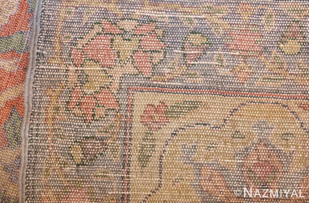 antique israeli bezalel rug 47463 knots Nazmiyal