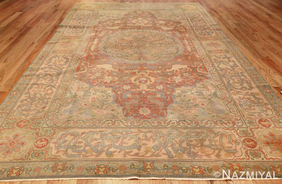 antique israeli bezalel rug 47463 whole Nazmiyal