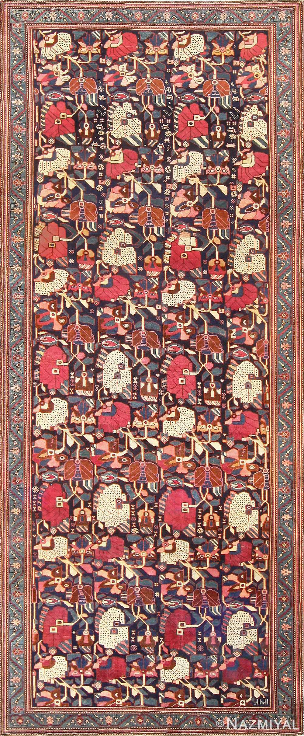Antique Karabagh Rug 47981 Detail/Large View