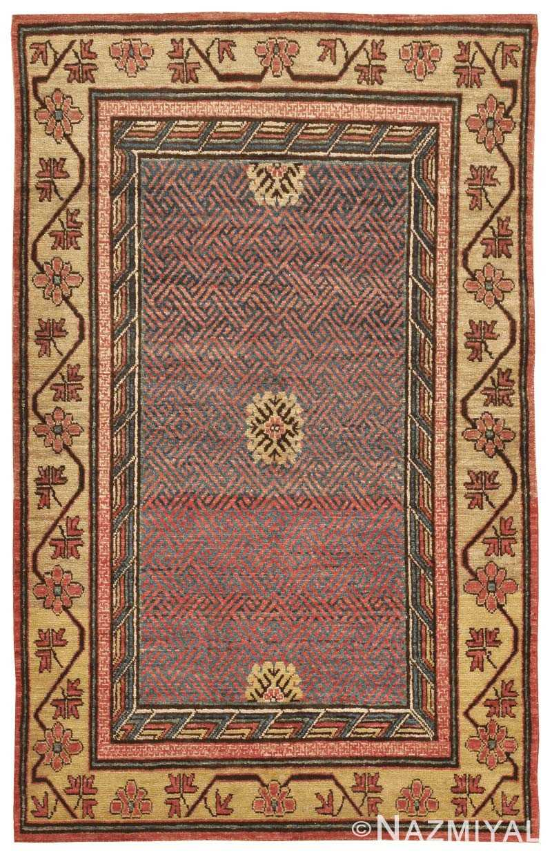 Antique Oriental Khotan Rug 42477