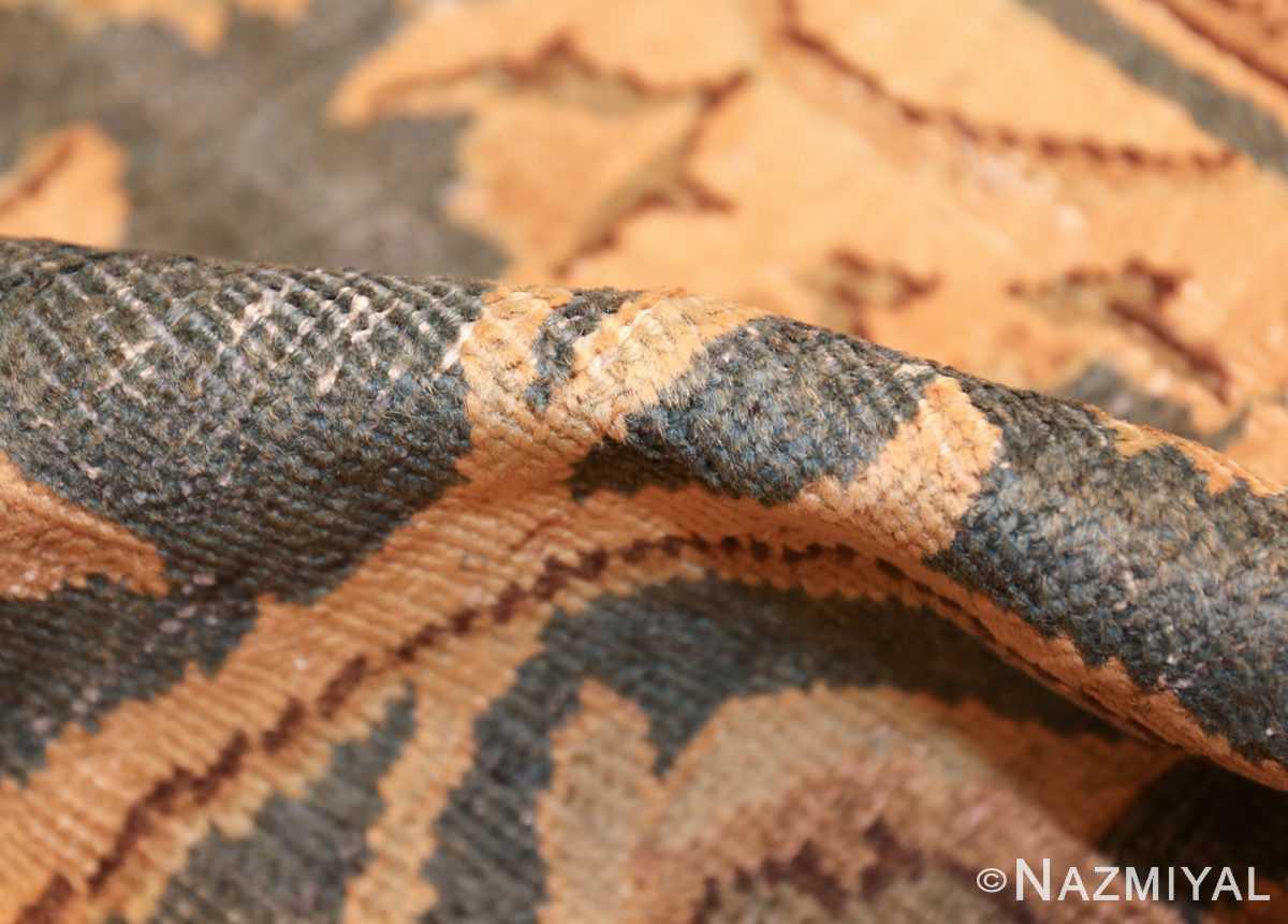 antique persian tabriz rug 43012 pile Nazmiyal