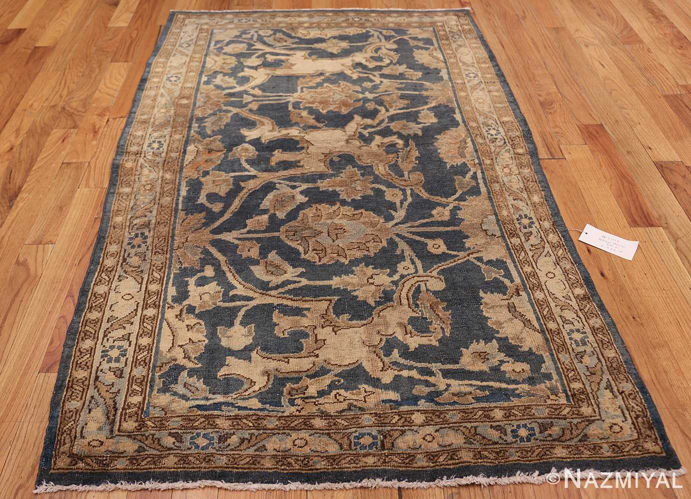 antique persian tabriz rug 43012 weave Nazmiyal