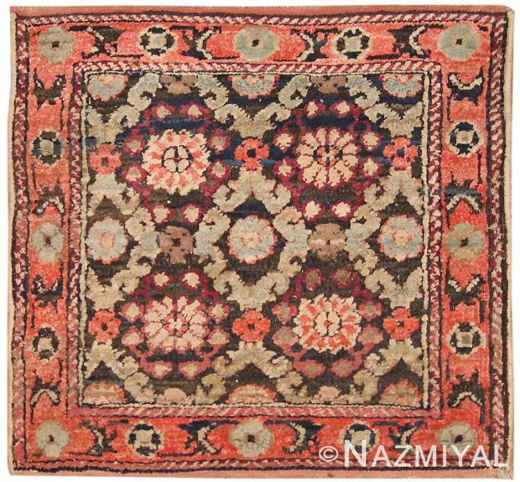 Antique Silk and Cotton Agra Oriental Rugs 41163 Nazmiyal