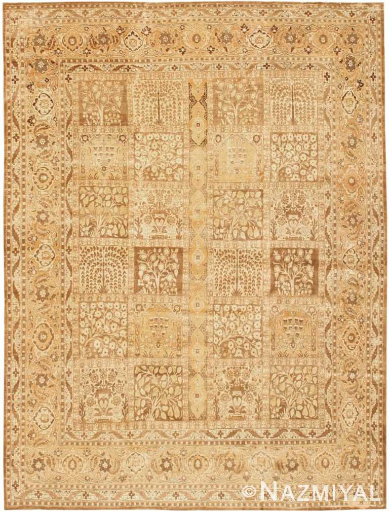 Antique Tabriz Persian Rug 42623 Detail/Large View