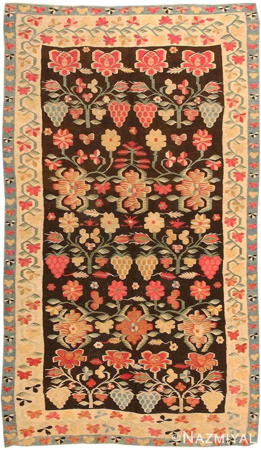 Antique Romanian Bessarabian Rug 2121