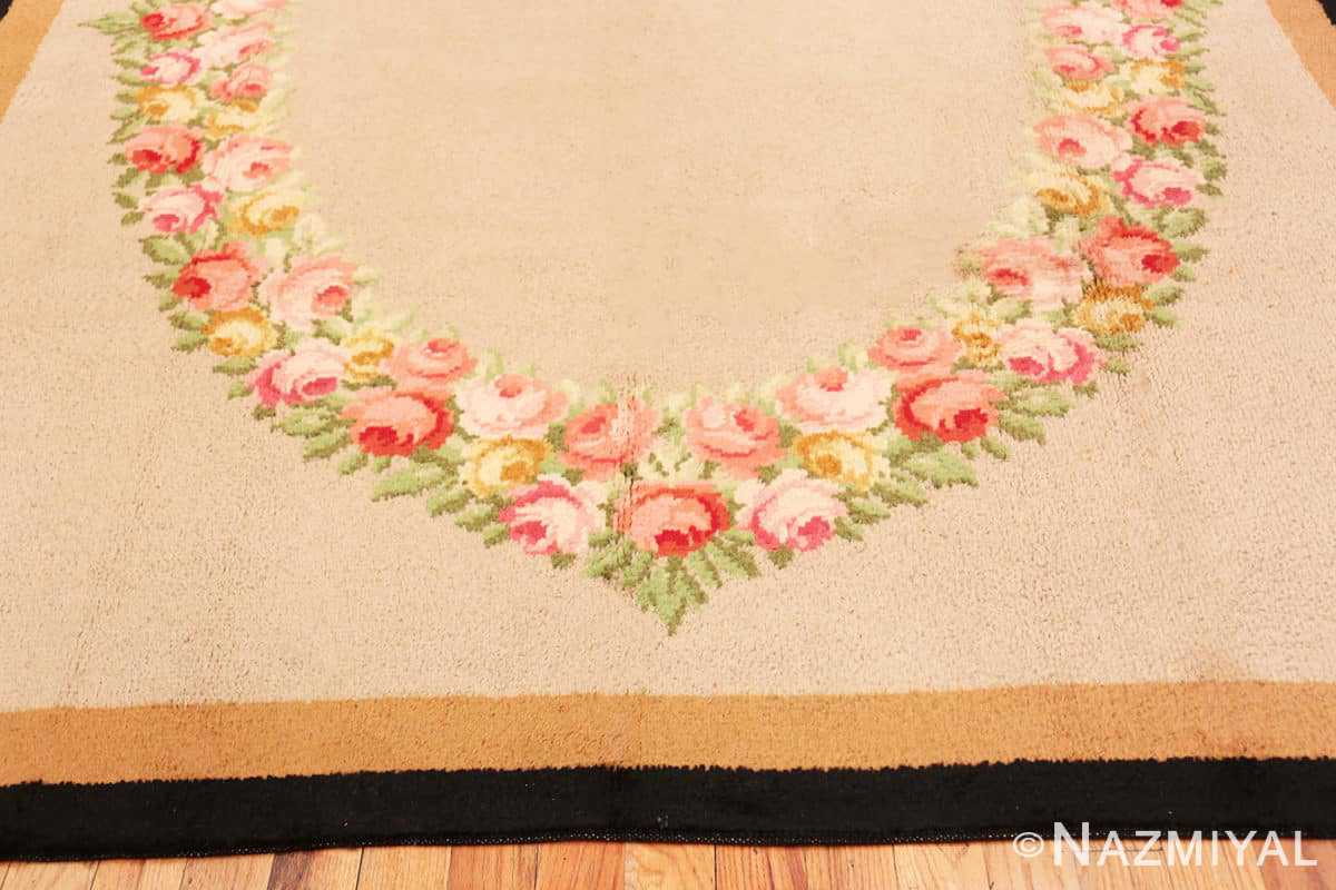 Border Antique Spanish Savonnerie rug 47786 by Nazmiyal