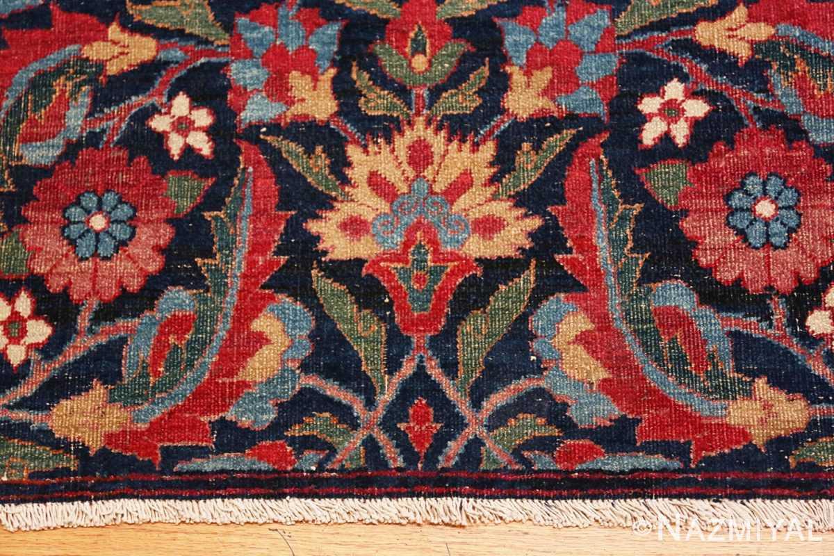 Border Small Antique Persian Kerman rug 47983 by Nazmiyal