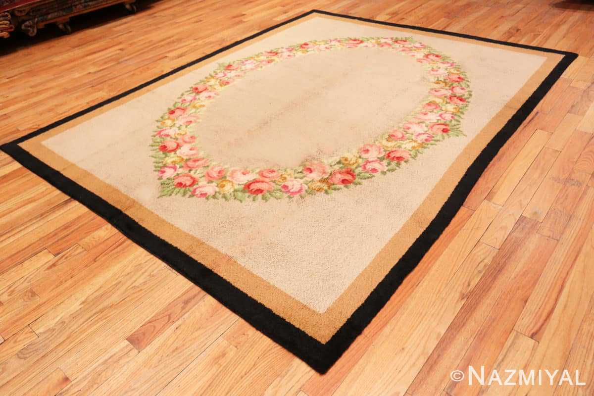 Full Antique Spanish Savonnerie rug 47786 by Nazmiyal
