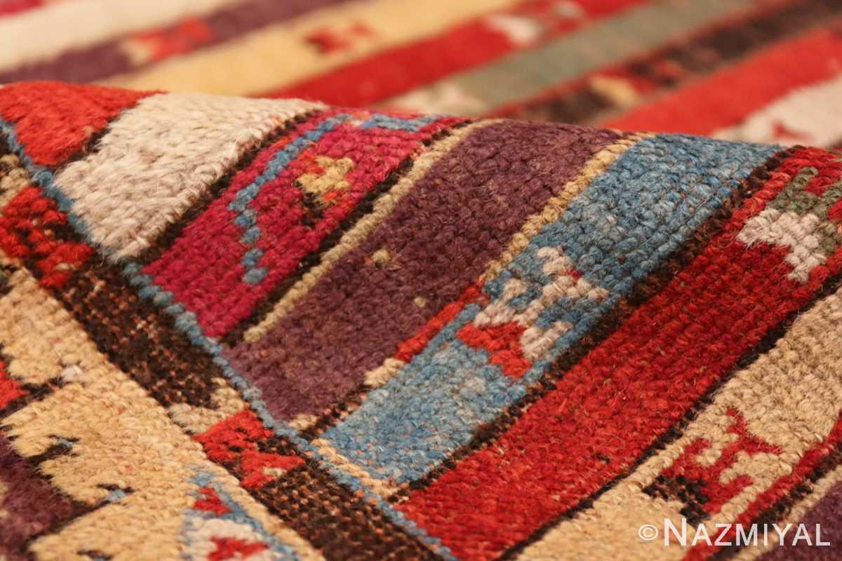 Pile Antique Tribal Turkish Kirsehir runner rug 47496 by Nazmiyal