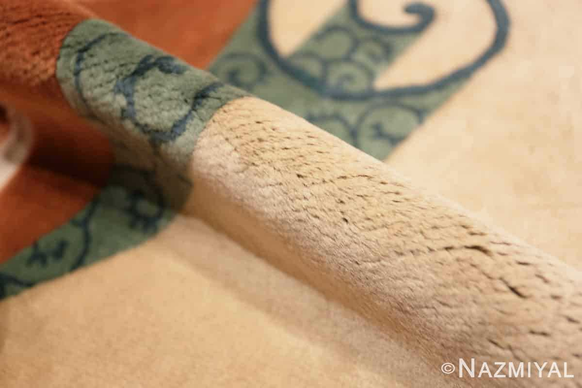 Pile Vintage Chinese deco rug 46916 by Nazmiyal