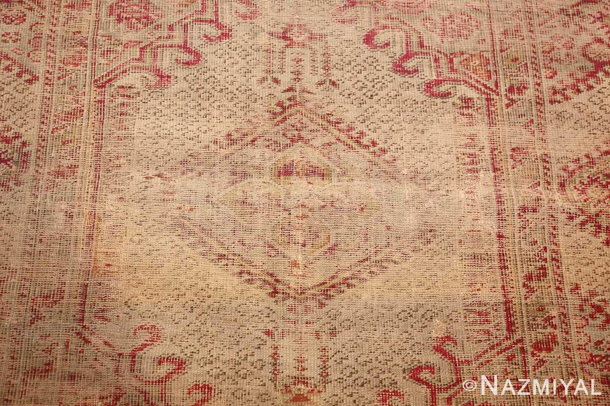 shabby chic antique turkish ghiordes rug 47594 middle Nazmiyal