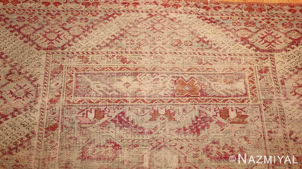 shabby chic antique turkish ghiordes rug 47594 top Nazmiyal
