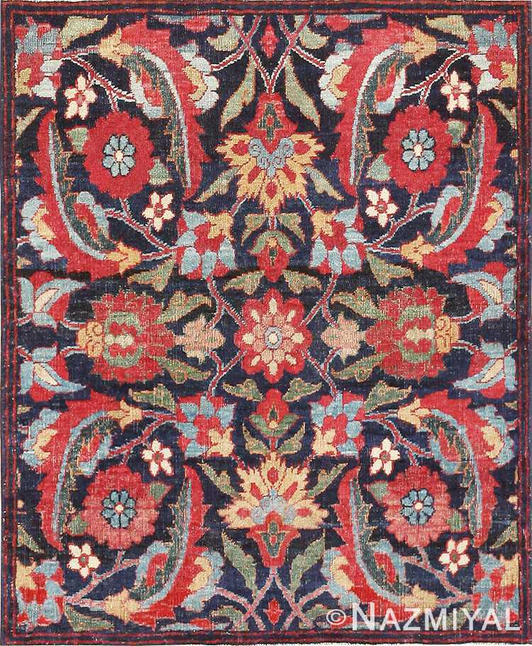 Small Antique Persian Kerman Rug 47983 Nazmiyal