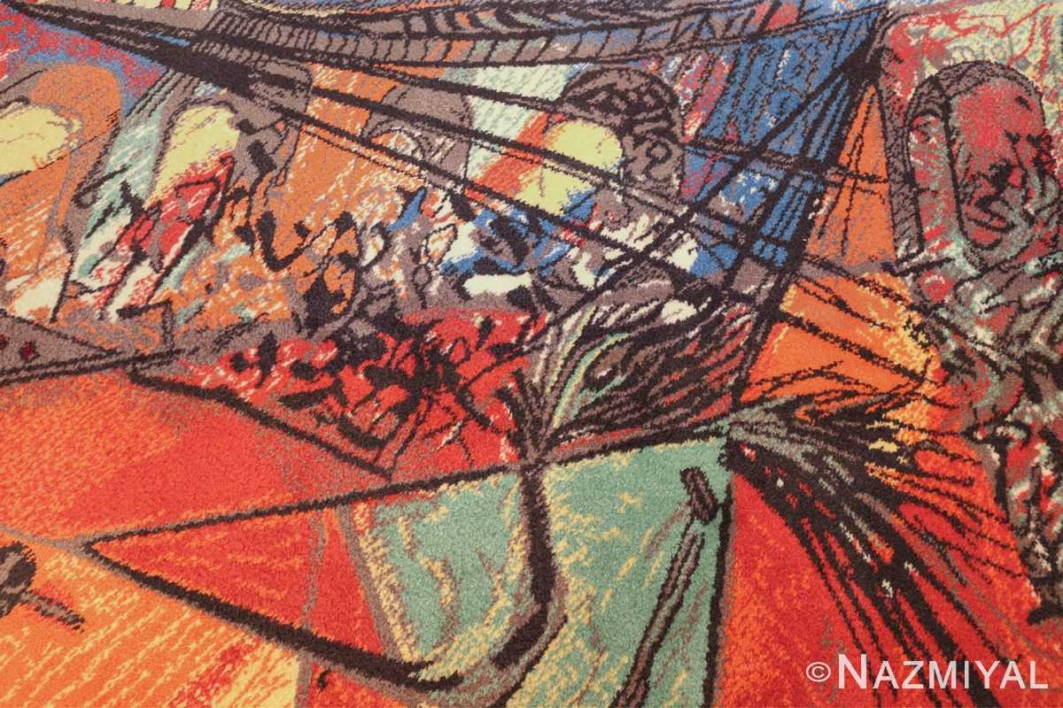 vintage pablo picasso rug by ege 47991 bridge Nazmiyal