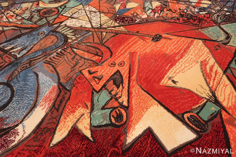 vintage pablo picasso rug by ege 47991 field Nazmiyal