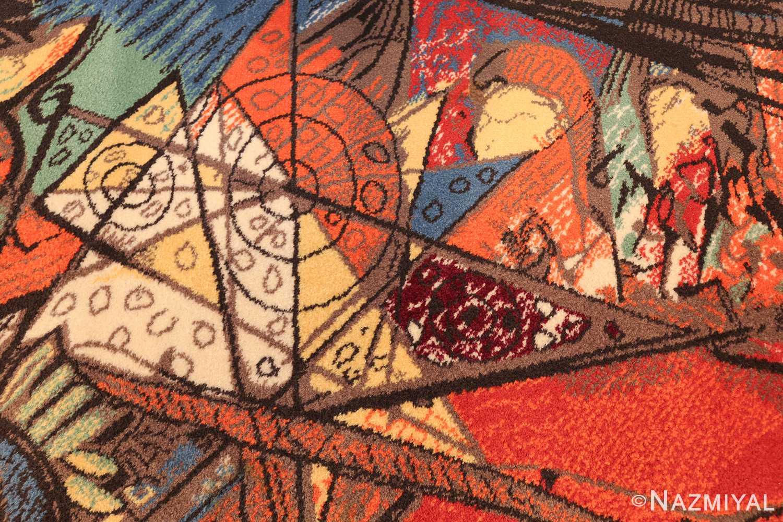 vintage pablo picasso rug by ege 47991 geometry Nazmiyal