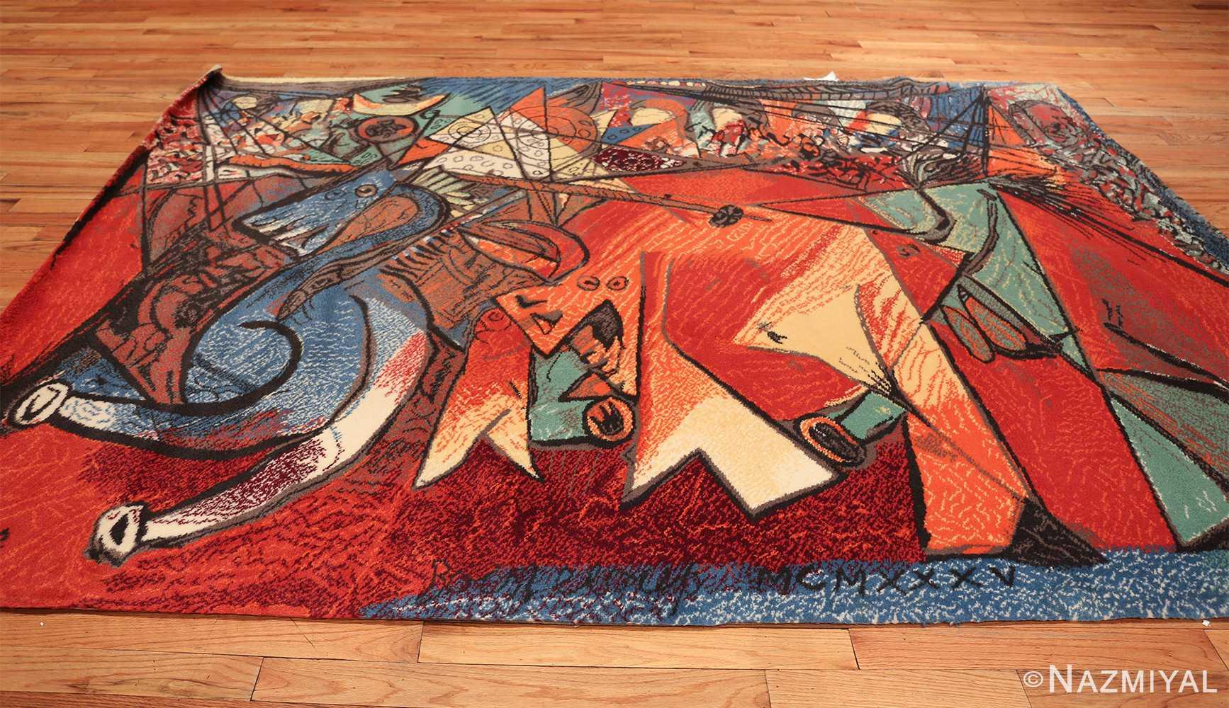 vintage pablo picasso rug by ege 47991 whole Nazmiyal