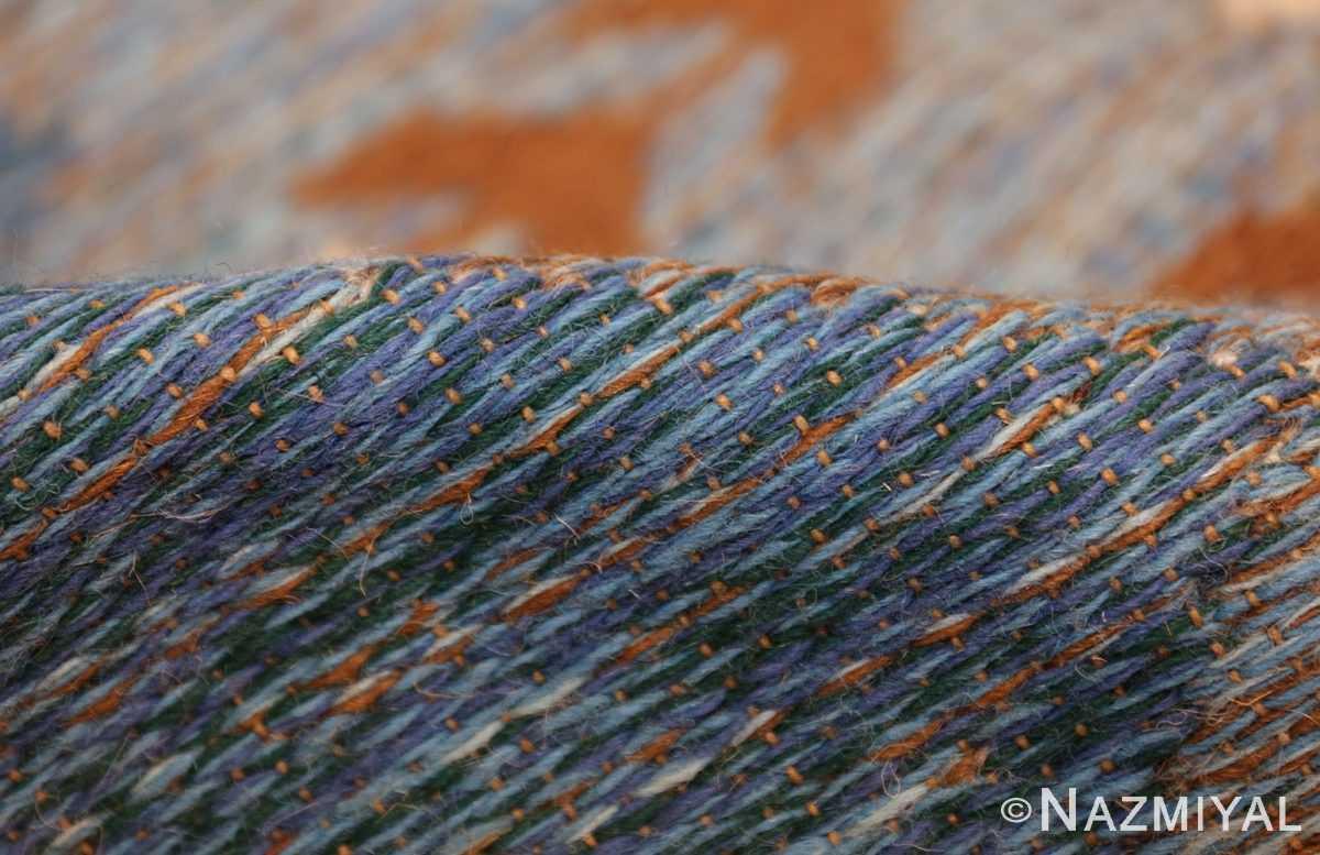 vintage swedish double sided rug 48008 pile Nazmiyal