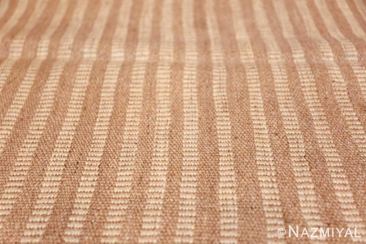 Vintage Swedish kilim 47941 lines Nazmiyal