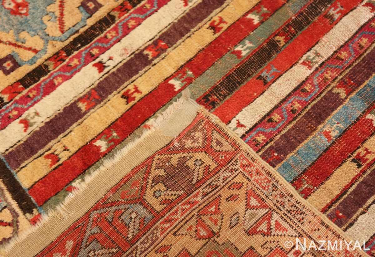 Weave Antique Tribal Turkish Kirsehir runner rug 47496 by Nazmiyal