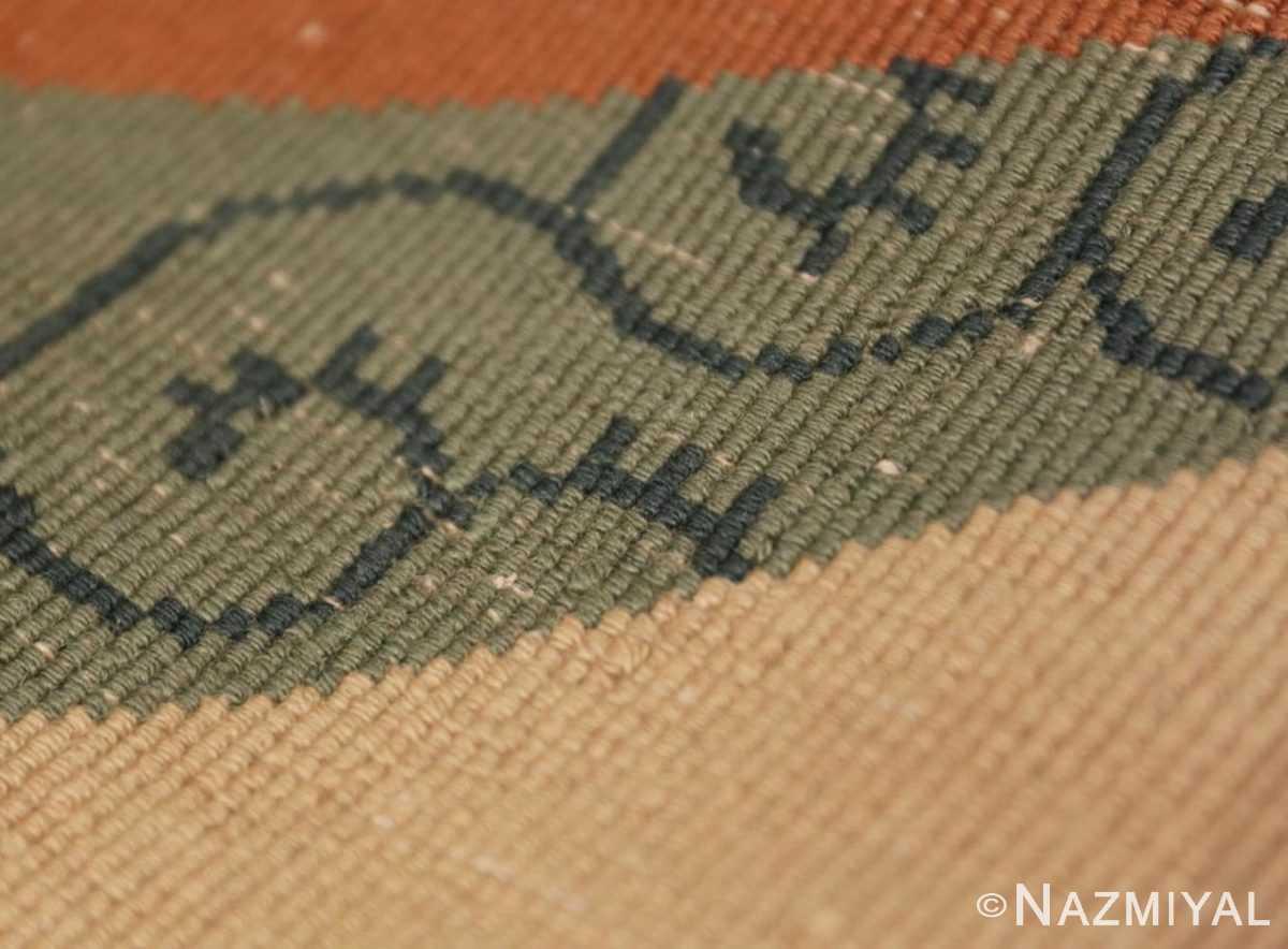 Weave detail Vintage Chinese deco rug 46916 by Nazmiyal