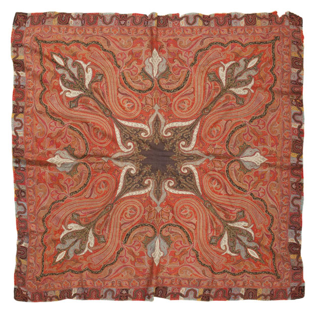 Antique Persian Shawl, from the Nazmiyal Collection