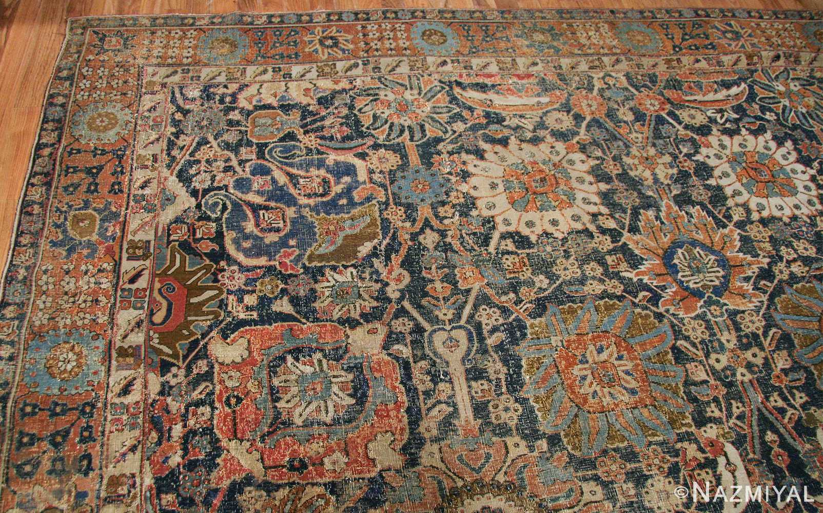 antique 17th century persian vase kerman carpet 45770 top Nazmiyal