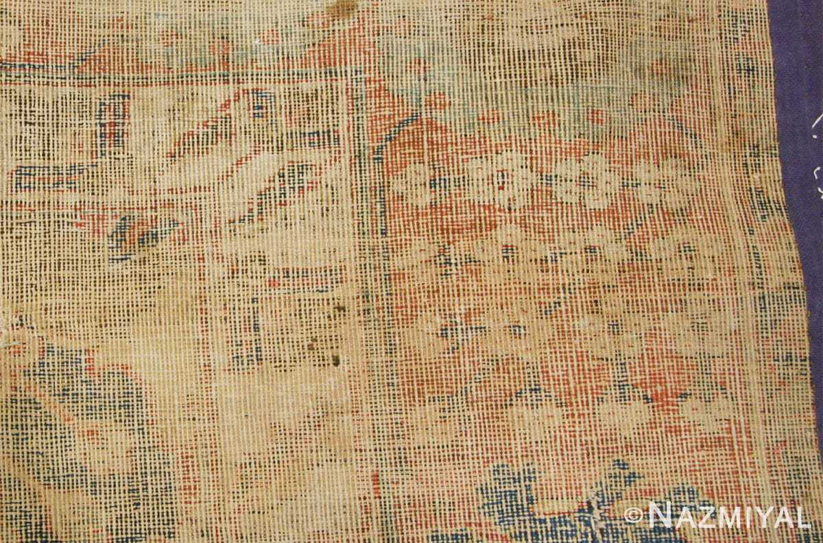 antique 17th century persian vase kerman carpet 45770 weave Nazmiyal