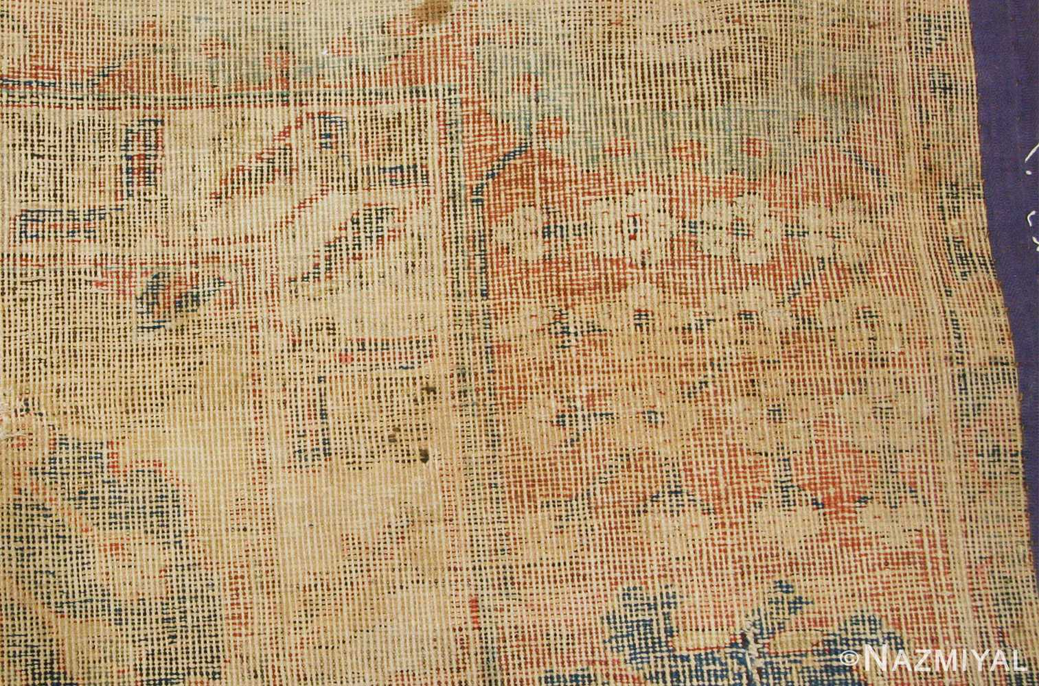 antique 17th century persian vase kerman carpet 45770 weave Nazmiyal