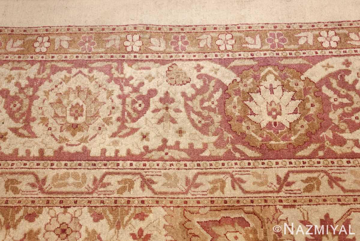 antique indian amritsar carpet 48002 border Nazmiyal