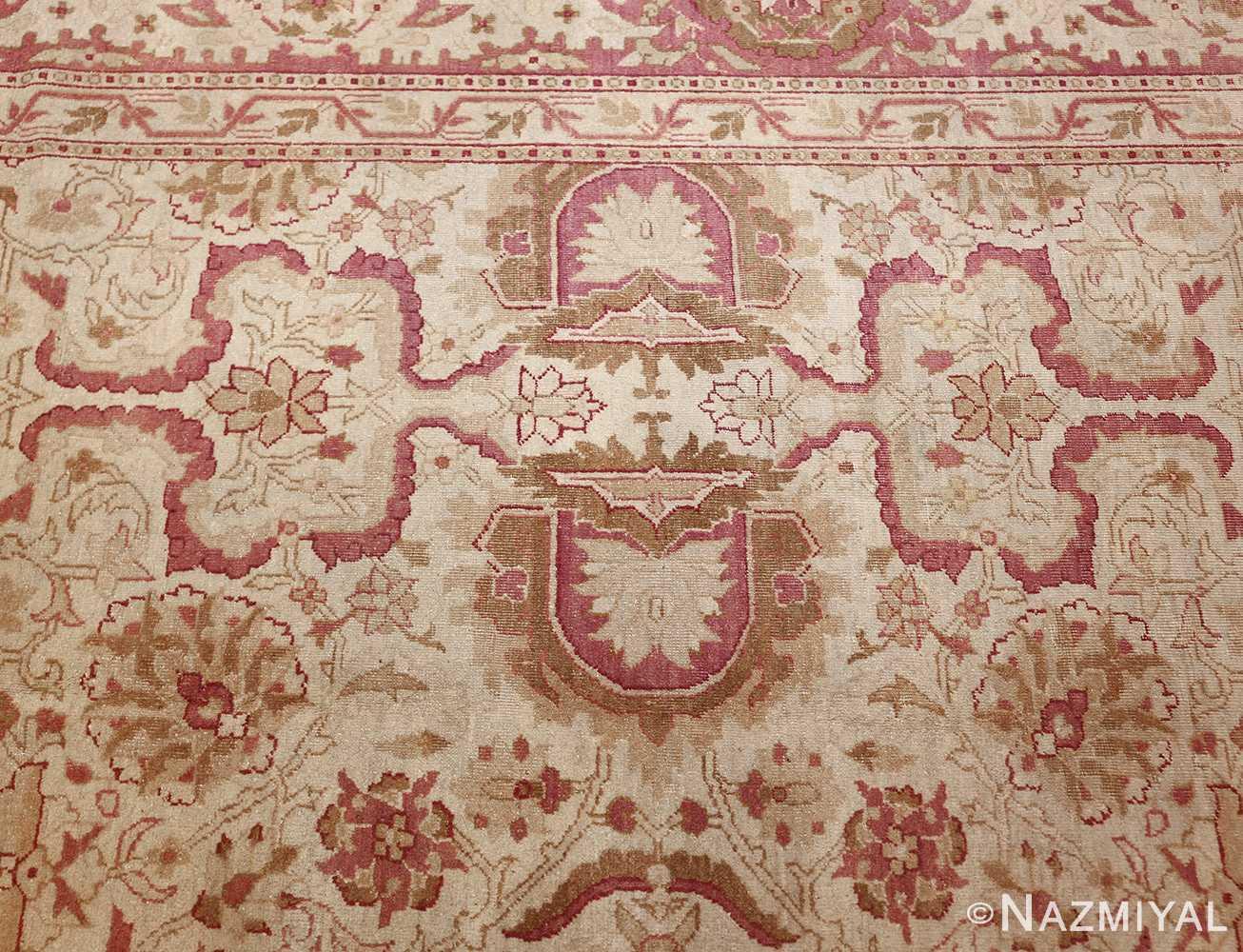 antique indian amritsar carpet 48002 design Nazmiyal