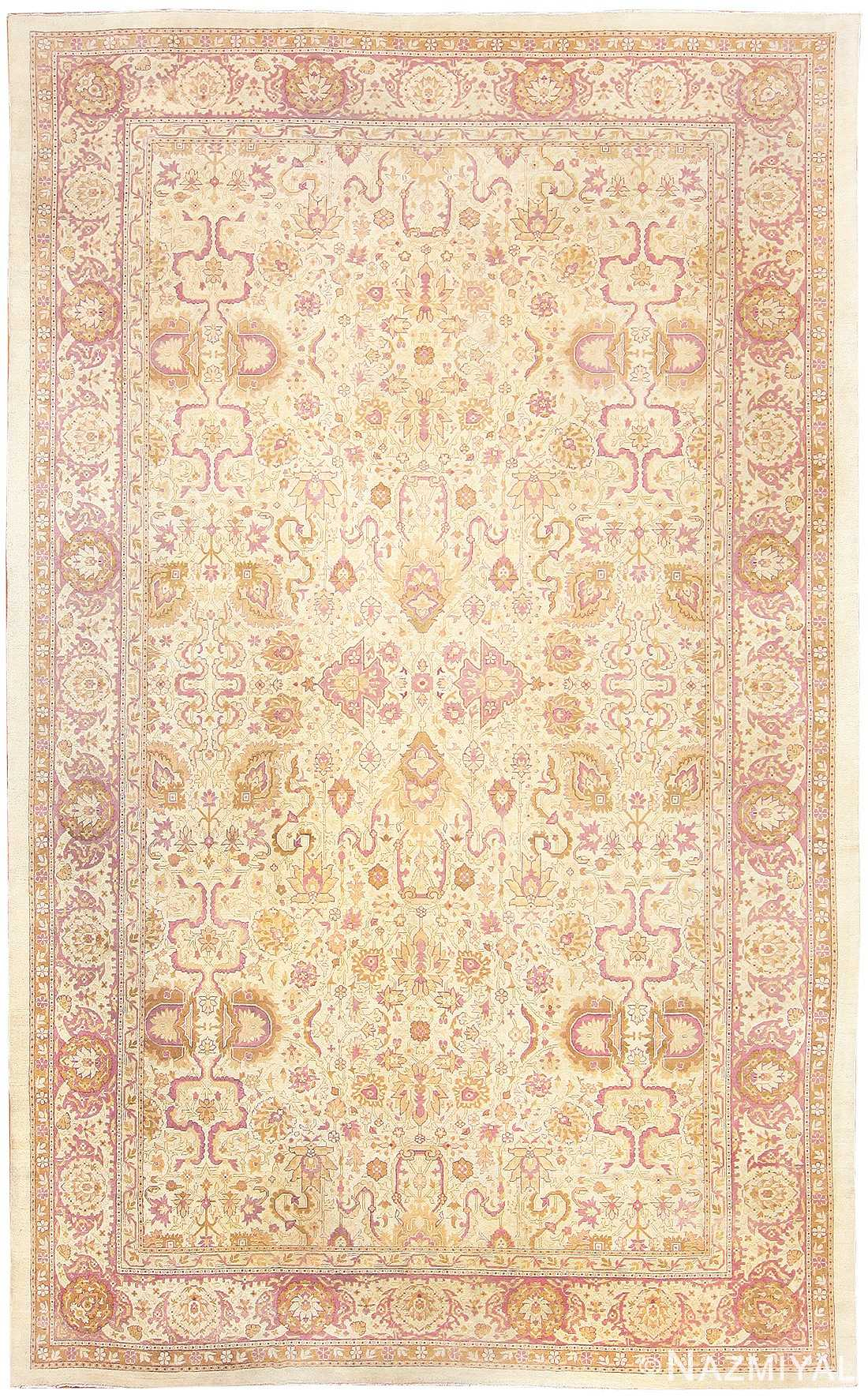 Antique Indian Amritsar Carpet 48002 Nazmiyal