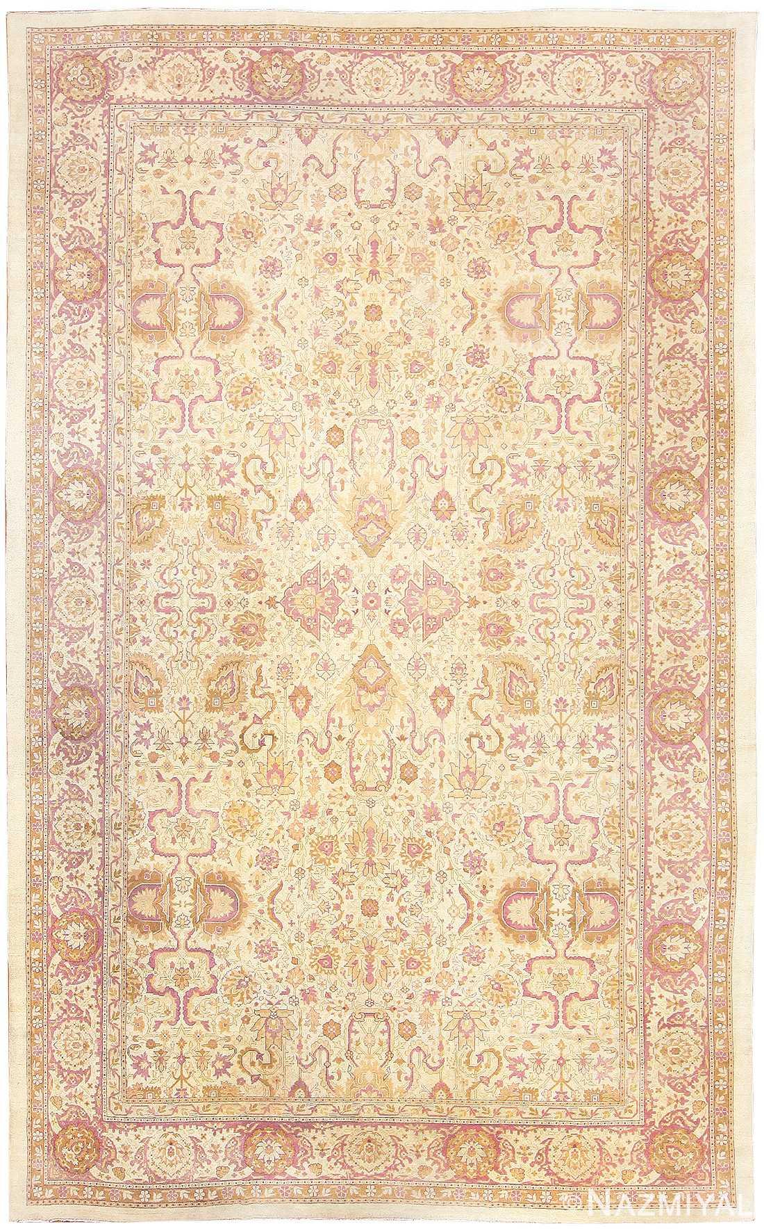 Antique Indian Amritsar Carpet 48002 Nazmiyal