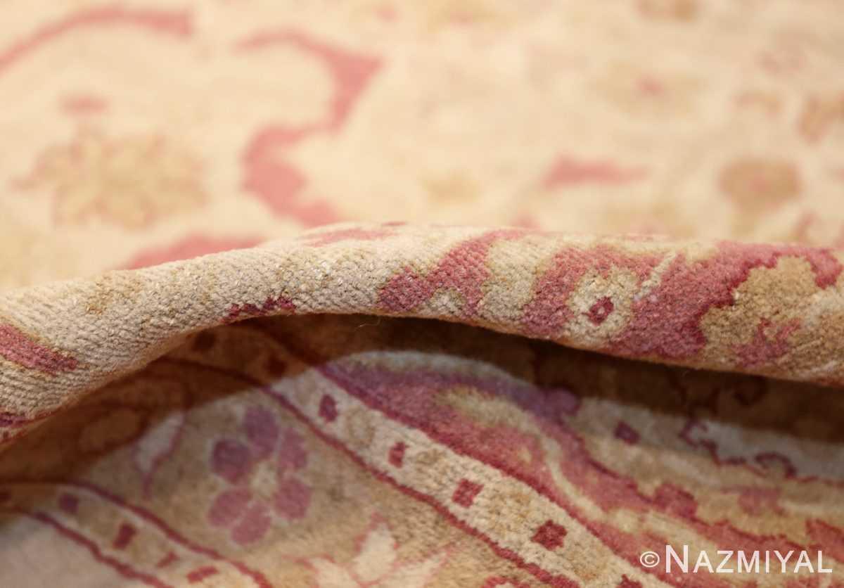 antique indian amritsar carpet 48002 pile Nazmiyal