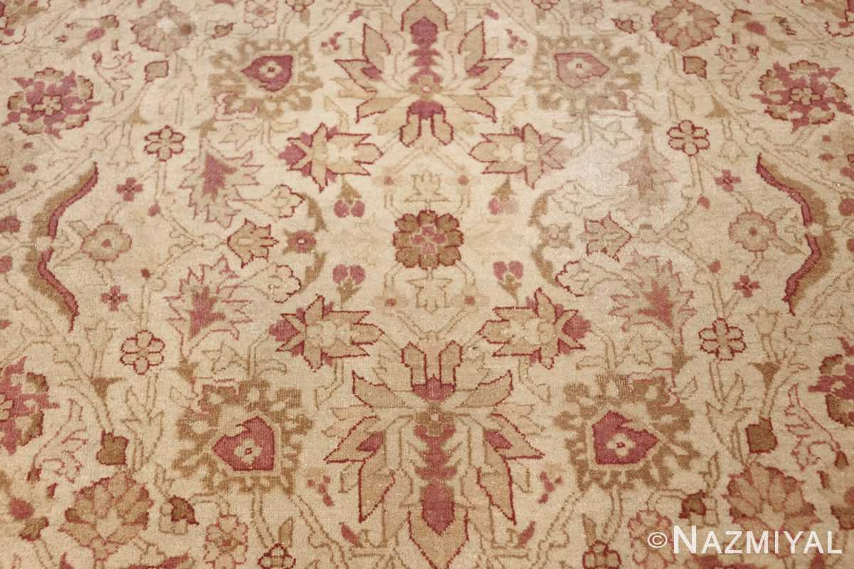 antique indian amritsar carpet 48002 tiny Nazmiyal