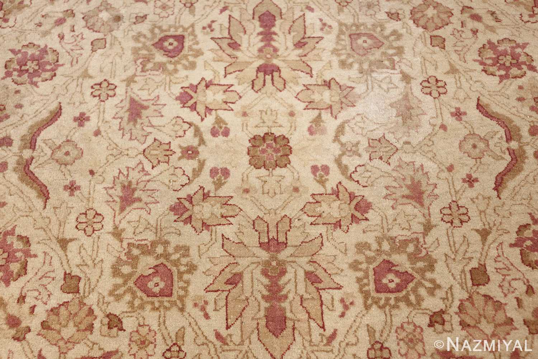 antique indian amritsar carpet 48002 tiny Nazmiyal